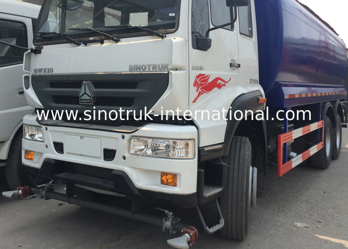 High Pressure Water Tank Truck With Pneumatic Control / Manual ...