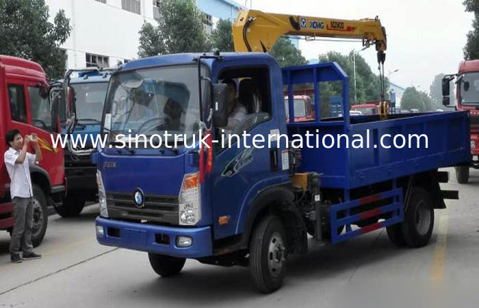 Professional Pipeline Transportation Truck Mounted Crane 4×2 Drive Type