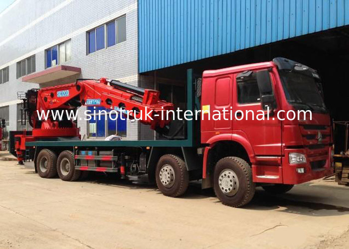 Hydraulic Truck Mounted Crane 25 Tons XCMG , Hydraulic