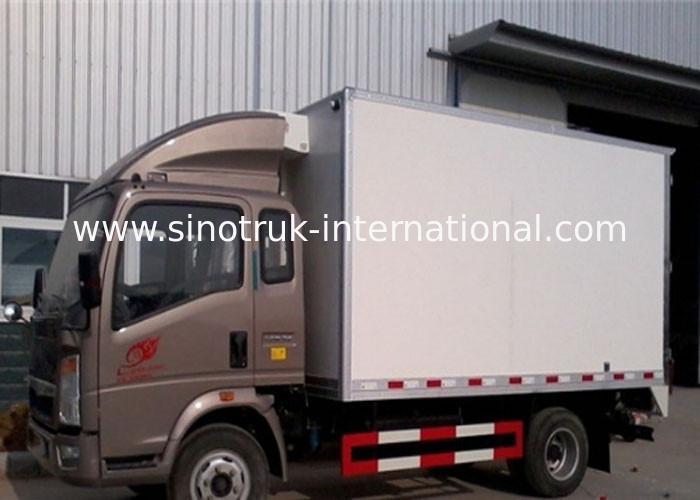 4x2 Meat Milk Frozen Foods Refrigerated Food Truck 6 Tons Vaccine Vehicles