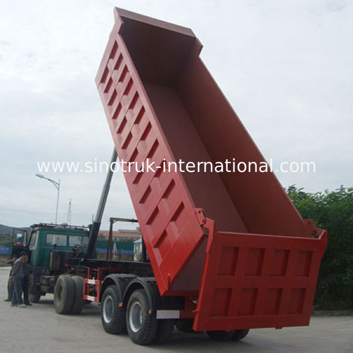 Mining construction semi trailer tipper truck china mining construction semi trailer tipper truck supplier publicscrutiny Gallery
