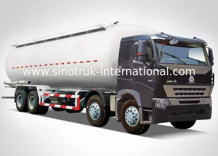 A7 Bulk Cement Transport Trucks 371HP 12 Wheels LHD 36-45CBM ZZ1317N4667N1