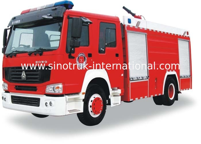 Fire Fighting Truck SINOTRUK HOWO 8-12CBM 266HP for Fire control or Sprinkling