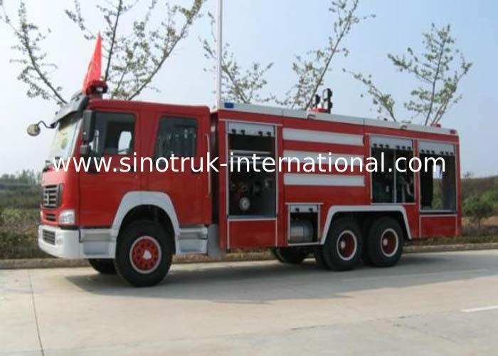 Compact Structure Emergency Fire Engine Vehicles / Firefighter Trucks