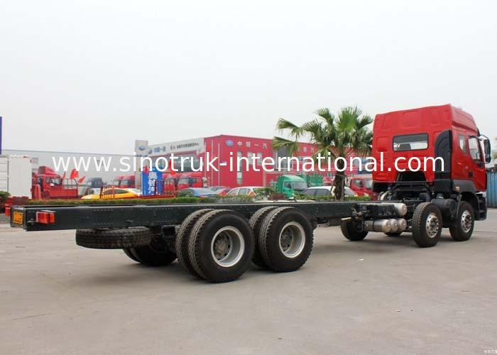 Large Cargo Truck 31Tons 12 Wheels LHD Euro2 336HP for Logistics Industry