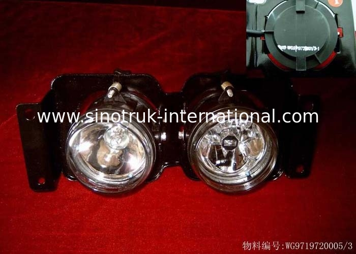Cargo Trailer Accessories / Truck Spare Parts Plastic Front Combinatory Lamp