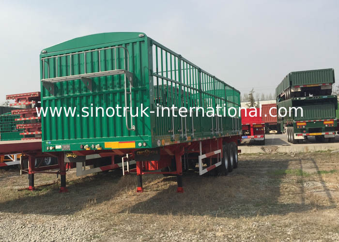 Light Self - Weight Cargo Semi Trailer Truck Used In Logistic Industry