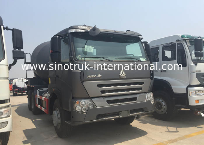 SINOTRUK INTERNATIONAL HOWO A7  Concrete Mixer Truck 10CBM 371HP 6X4 LHD