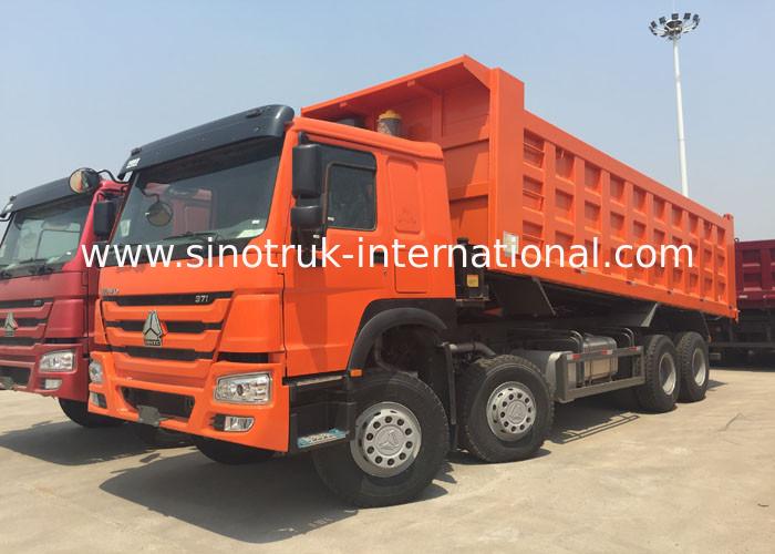 Tipper Truck SINOTRUK HOWO 371HP 12 Wheels LHD 31tons 20 30CBM ZZ3317N3567W
