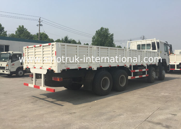 8X4 RHD Cargo Truck 30 - 60 Tons Euro 2 336HP High Security For Logistic Industry