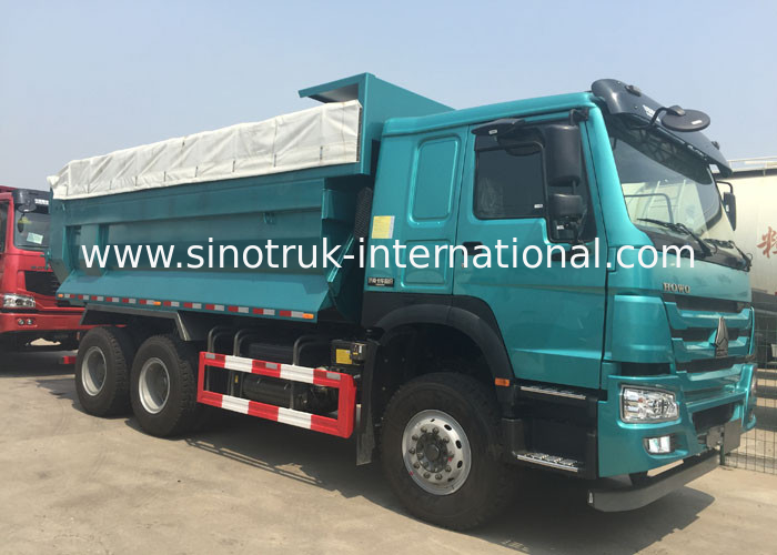 Construction Waste 10 Wheel Dump Truck Public Works Euro 2 Howo Tipper