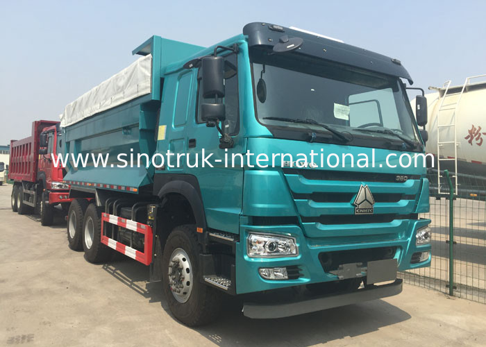 automatic 6x4 heavy dump truck with cover 5800 2300 1500mm high