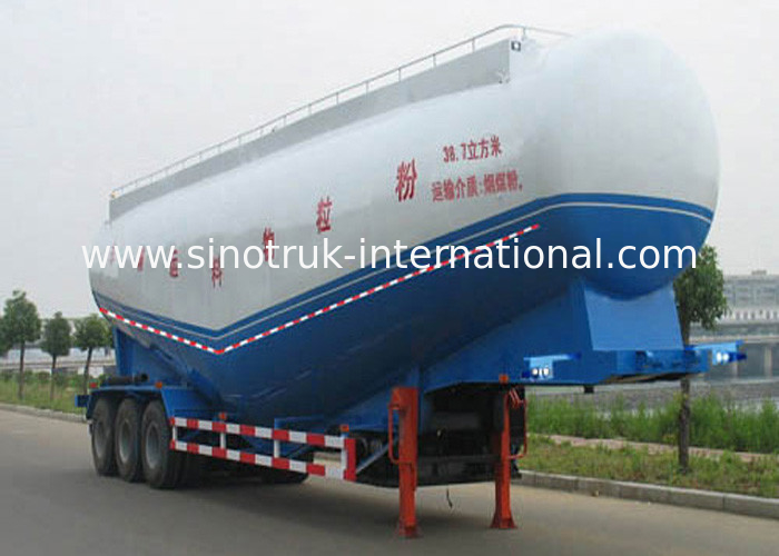 50-80 Ton Loading Capacity Semi Trailer Truck For Cement Plant / Large Construction Sites