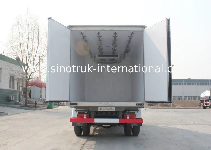 Frozen Foods Refrigerated Truck Vaccine Vehicles Meat / Milk Refrigerated Food Truck