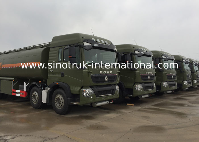 SINOTRUK 30CBM Oil Fuel Tanker Truck Computer Refueling Mobile Fuel Trucks Oil Tanker