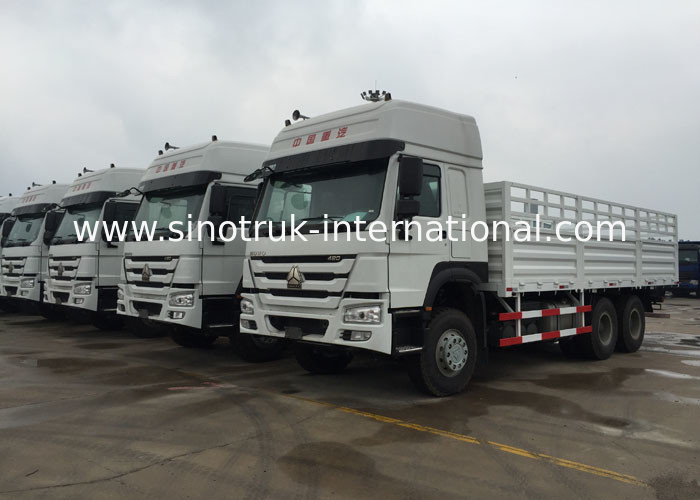 Light Goods HOWO Economic Cargo Vehicles 25 Tons 10Wheels LHD 290 HP Two Berth