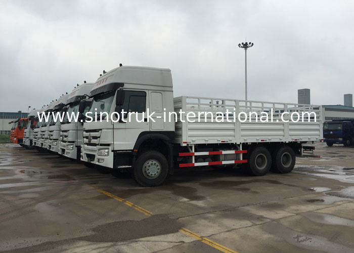 Commercial Cargo Vans 25 - 30 Tons LHD / RHD Euro 2 266 - 371HP Lorry Vehicle