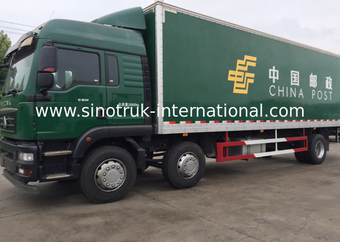 SINOTRUK HOWO Cargo Van Truck 30 - 40 Tons 6x2 Euro 2 336HP For Logistics Industry