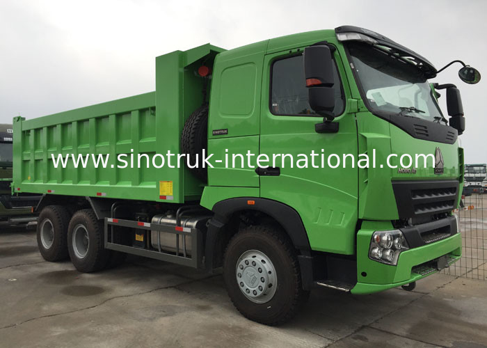 SINOTRUK HOWO Dump Truck A7 Front Lifting Hydraulic System 30 - 40 Tons RHD 6X4