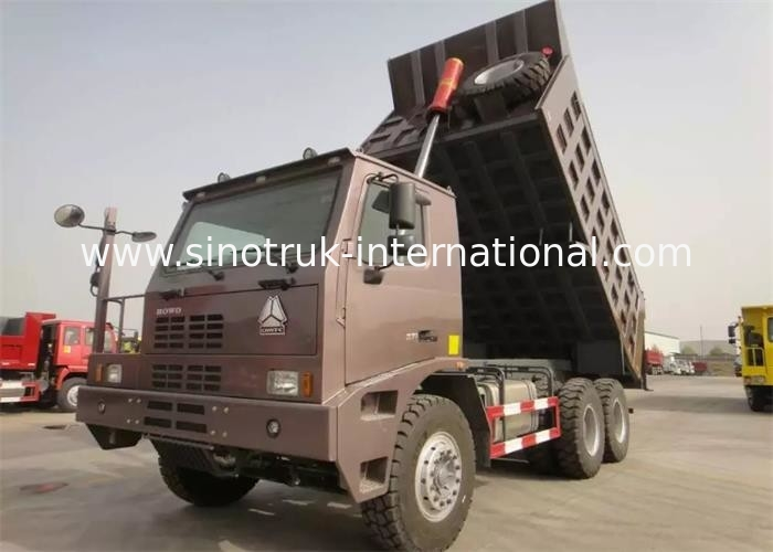 SINOTRUK HOWO Mining Tipper Dump Truck ZZ5707S3840AJ High Strength Skeleton Cab