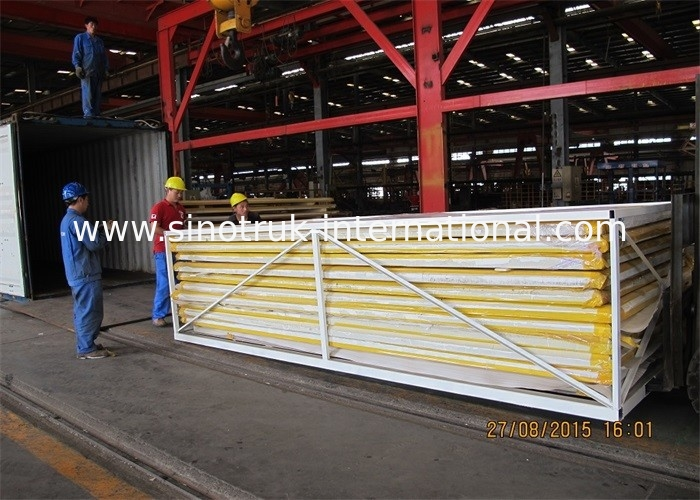 SINOTRUK Insulated Refrigerated Truck CKD Panels -18℃ For Refrigerator Truck