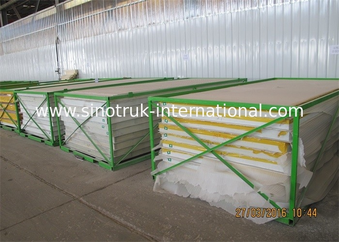 32CBM 12 - 16 Tons Refrigerated Truck Cargo Body 6.3m Length Insulated CKD Panels