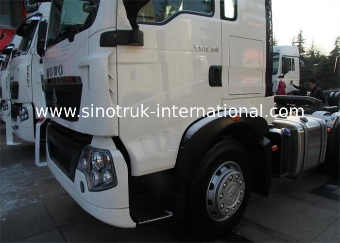 SINOTRUK HOWO T5G MAN Engine Tractor Truck LHD 6X4 Euro 4 336 HP ZZ4257N324GD1