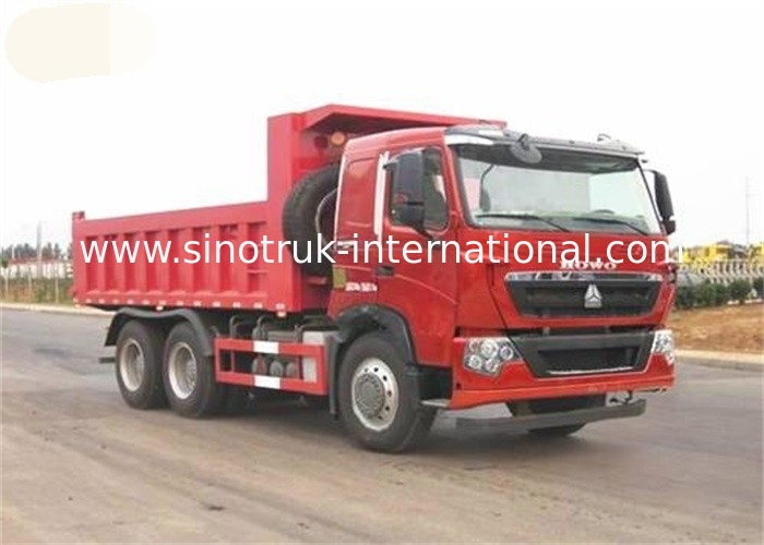 360HP LHD 30 - 40 Tons Sinotruk Howo 6x4 Dump Truck Howo Tipper Truck International