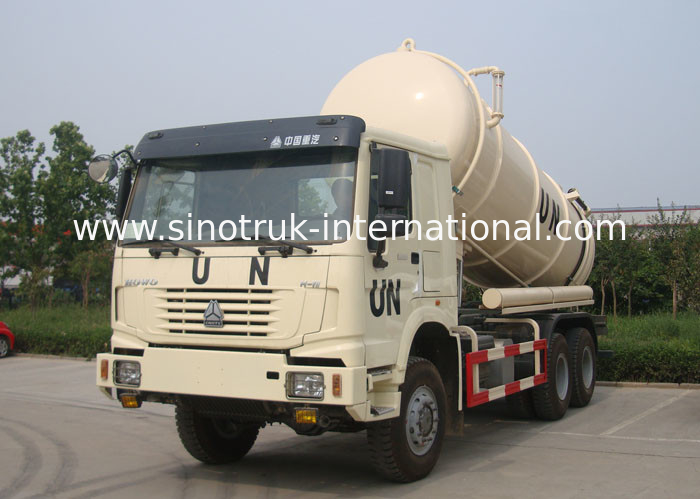 16CBM Collecting Sewage Sludge Vacuum Pump Septic Tank Cleaning Truck LHD 6X4