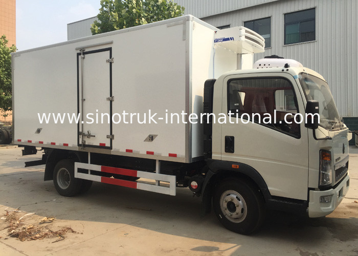 Low Temperature Refrigerator Truck / LHD 4X2 Refrigerated Food Truck