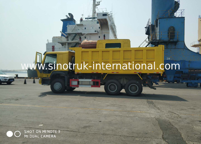 RHD Large Capacity Tipper Dump Truck With Electronic Management System