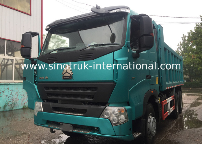 Heavy SINOTRUK HOWO A7 Garbage Dump Truck With Long Life Time , 5800*2300*1500mm
