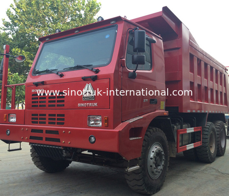 China Commercial Dump Truck With Cargo Body Structure / SINOTRUK HOWO Truck factory