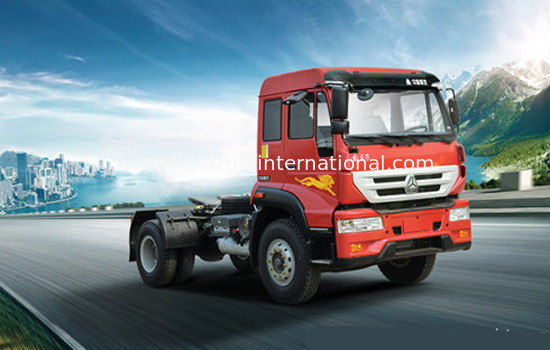 China SINOTRUK Golden Prince Tractor Truck 4X2 Euro2 266HP 18Tons ZZ4181M3611W factory