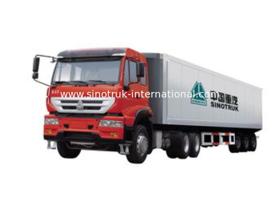 China Compact Structure Tractor Trailer Truck 6X4 Euro2 290HP ZZ4251M3241W factory