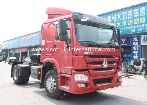 China Tractor Truck SINOTRUK HOWO LHD 4X2 Euro2 336HP ZZ4187N3511V factory