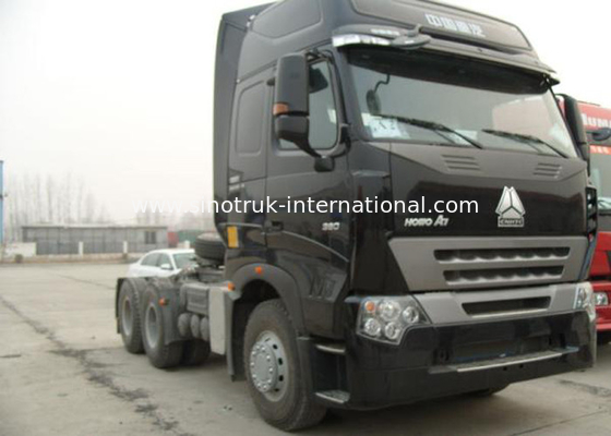 China A7 HOWO Tractor Truck LHD 6X4 Euro2 380 HP Two Berth ZZ4257N3247N1B factory