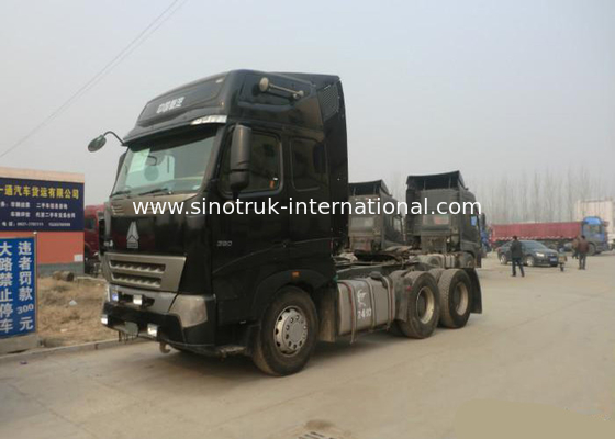 China RHD 6X4 SINOTRUK HOWO 6x4 Dump Truck Tractor With Euro 2 Emission Standard factory