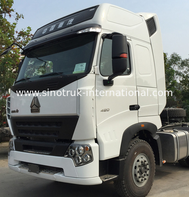 China Euro2 420HP SINOTRUK HOWO A7 Tractor Truck LHD 6X4 , HOWO SINO Truck factory