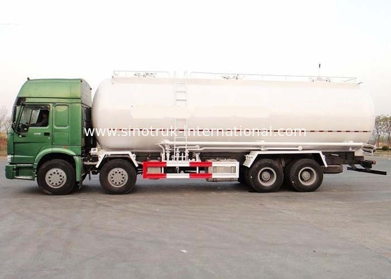 High Efficiency 12 Wheels 8×4 Cement Bulk Carrier Truck With Large Capacity