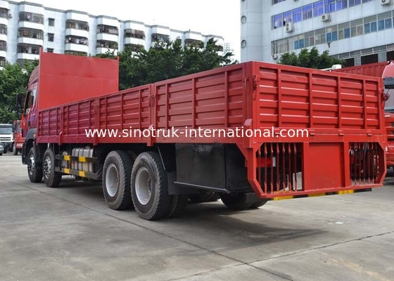 China Diesel Fuel Transportation Cargo Truck 30-60 Tons 8X4 LHD Euro2 336HP factory