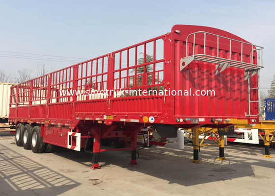 China Mn Steel  Semi Truck Trailer Tractor Trailer Truck 12600*3000mm factory