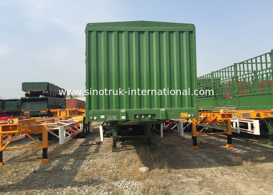 China High Efficiency Storage Stake Semi Trailer Truck Flexible Various factory