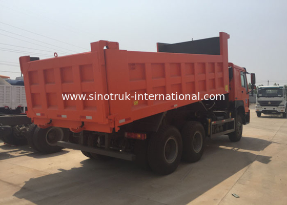 China HYVA Front Lifting Hydraulic Cylinder Coal Mine Dump Trucks 420HP LHD 6X4 Drive factory