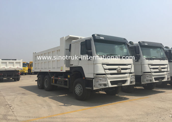 China Mining Industry Tipper Dump Truck 10 Wheel 30 - 40Ton HYVA Front Lifiting Cylinder factory