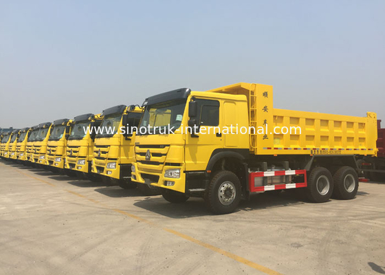 China Tipper Dump Sino Howo Trucks 6X4 10-25 CBM For Construction Material Transport factory