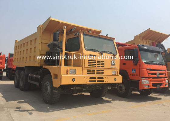 China Mining Industry Tipper Dump Truck 6X4 LHD Euro 2 70 Tons BV / IFA Certification factory