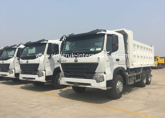 China SINOTRUK HOWO Tipper Commercial Dump Truck A7 30 - 40 Tons For Construction factory