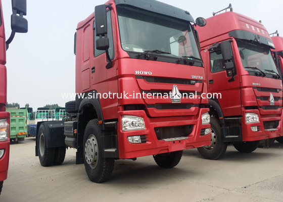 China High Performance Tractor Head Trucks , 266-420hp Sinitruk Tractor Trailer Truck factory