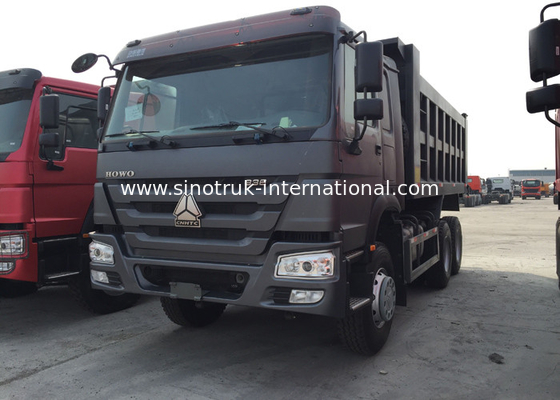China Automatic Sinotruk Howo Dump Truck , Commercial 10 Wheeler Dump Truck factory